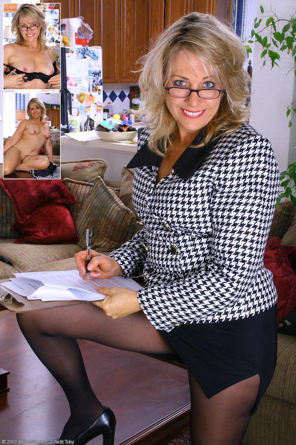 Mature pleasure over 40 leah